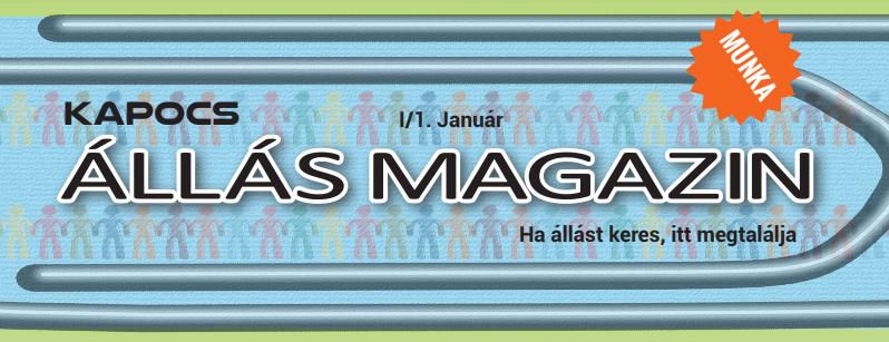 Kapocs ÁLLÁS Magazin