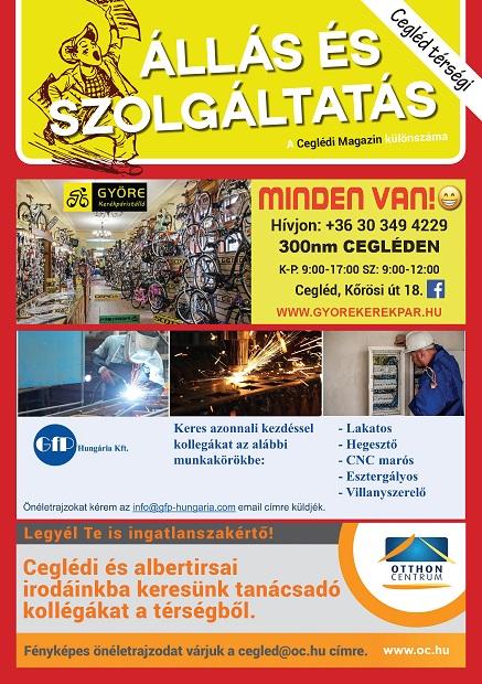 Cegléd Térségi Állás és Szolgáltatás Magazin - 2021. Június