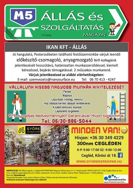 M5 ÁLLÁS és Szolgáltatás Magazin - 2021. Június