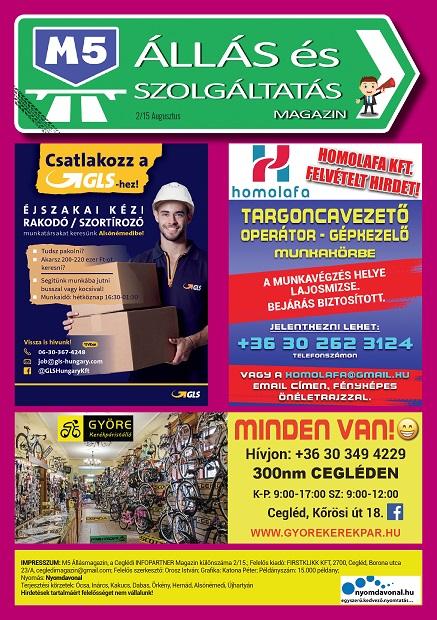 M5 ÁLLÁS és Szolgáltatás Magazin - 2021. Augusztus