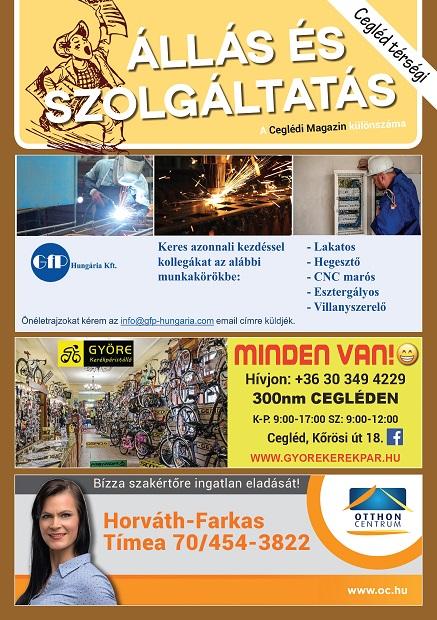 Cegléd Térségi Állás és Szolgáltatás Magazin - 2021. Szeptember